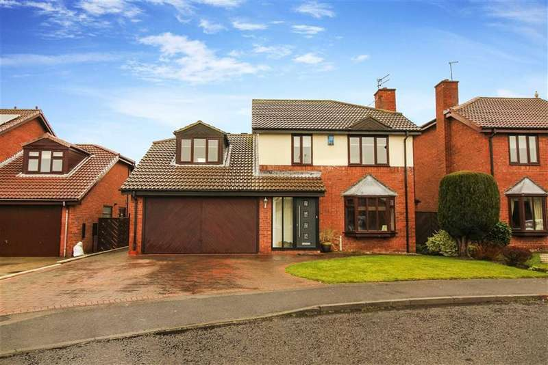 4 Bedrooms Detached House for sale in Well Ridge Close, Whitley Bay, Tyne And Wear