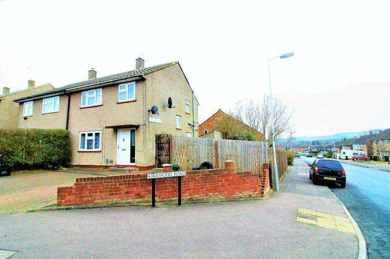 3 Bedrooms Semi Detached House for sale in Corner Plot CHAIN FREE on Brunel Road, Luton