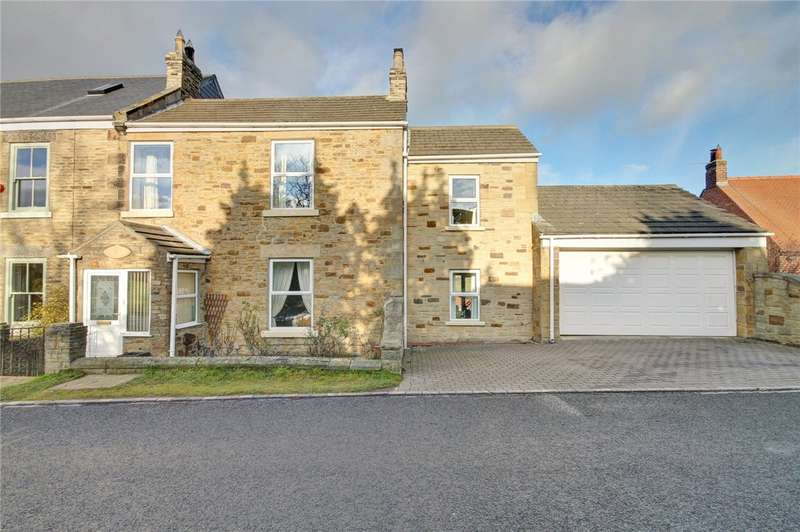 3 Bedrooms Semi Detached House for sale in Tudhoe Lane, Tudhoe Village, County Durham, DL16