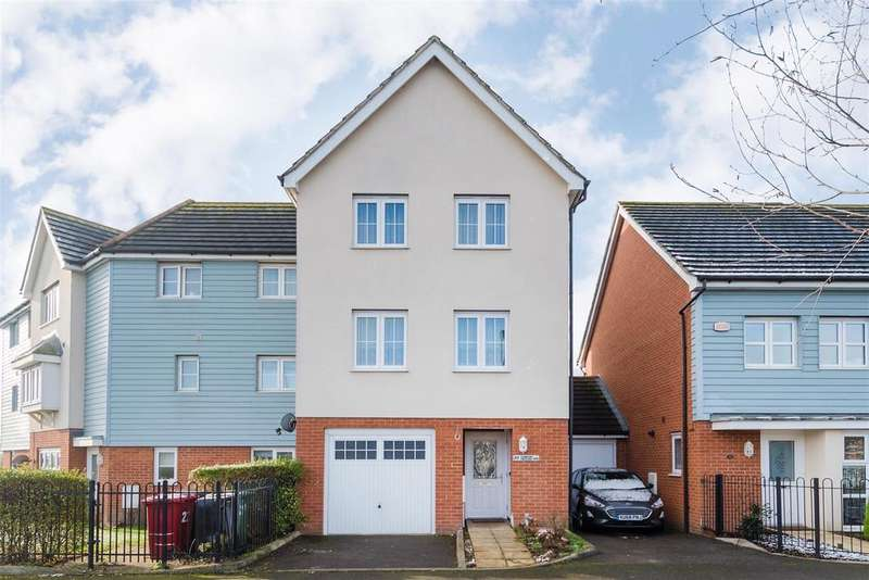 4 Bedrooms Link Detached House for sale in Ashmount Crescent, Cippenham