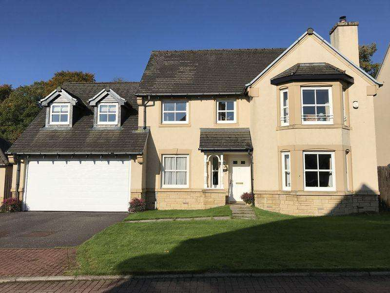 4 Bedrooms Detached House for sale in 9 Moss Side Road, Biggar