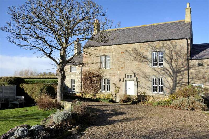 5 Bedrooms Semi Detached House for sale in Monk House, Nr Bamburgh, Northumberland, NE68