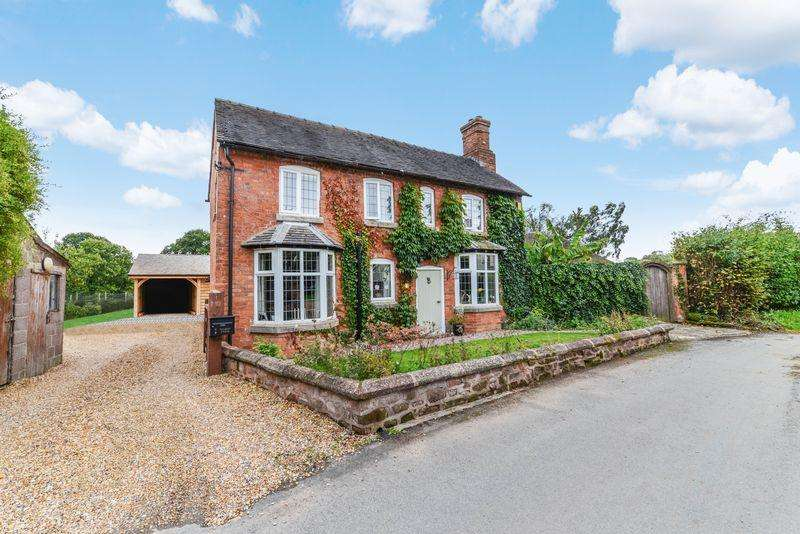 4 Bedrooms Detached House for sale in Marsh Lane, Cheswardine, Market Drayton