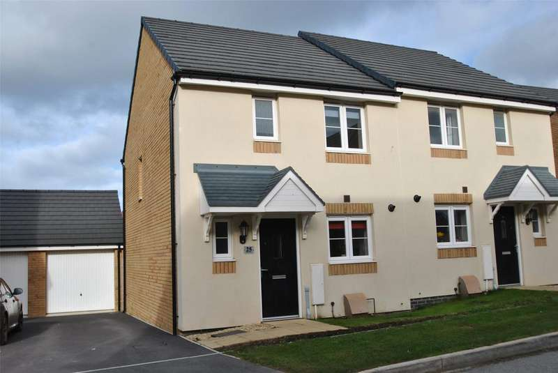 3 Bedrooms Semi Detached House for sale in Pintail Close, Bude