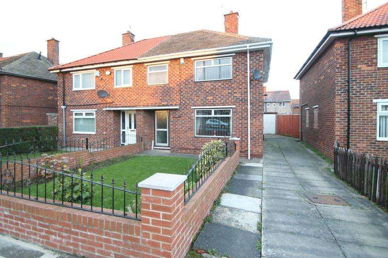 3 Bedrooms Semi Detached House for sale in Overdale Road, Park End, Middlesbrough, TS3 7DX