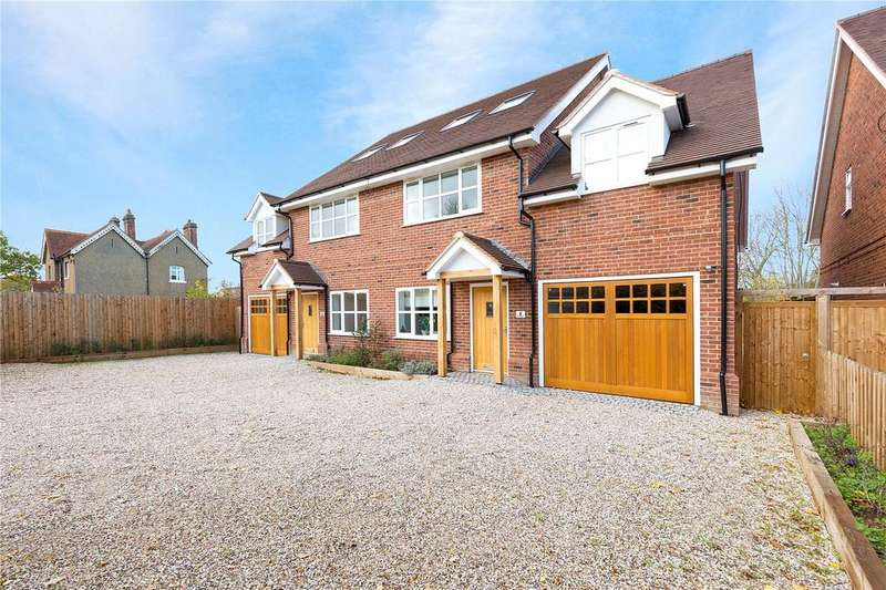 4 Bedrooms Semi Detached House for sale in Flint Mews, Chelmsford Road, Shenfield, Brentwood, CM15