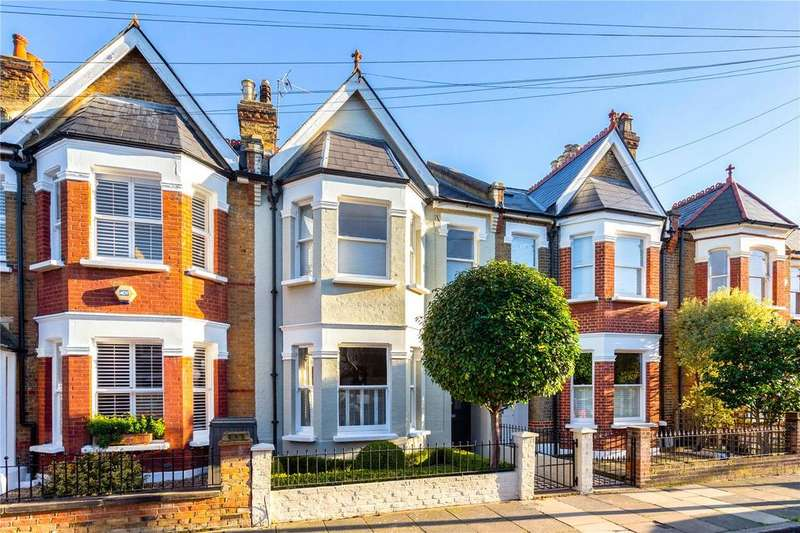 5 Bedrooms Terraced House for sale in Cleveland Gardens, Barnes, London, SW13