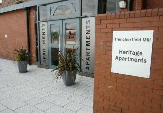 2 Bedrooms Flat for sale in Heritage Way, Wigan