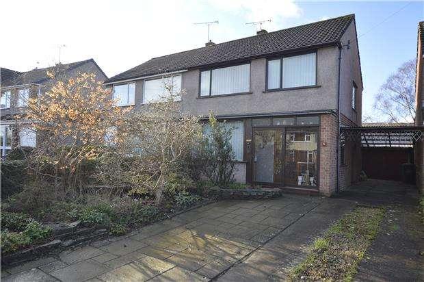 3 Bedrooms Semi Detached House for sale in Bradley Avenue, Winterbourne, BRISTOL, BS36 1HW