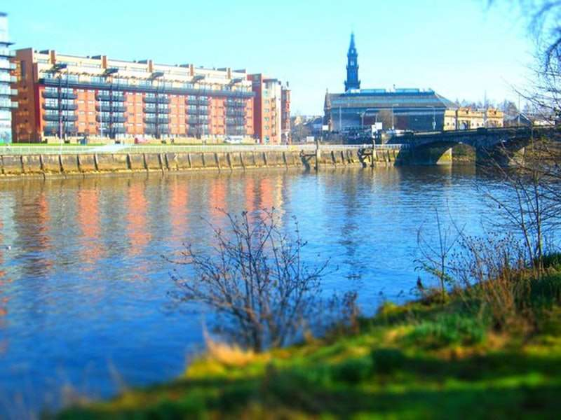 1 Bedroom Apartment Flat for sale in Clyde Street, Glasgow, Lanarkshire, G1