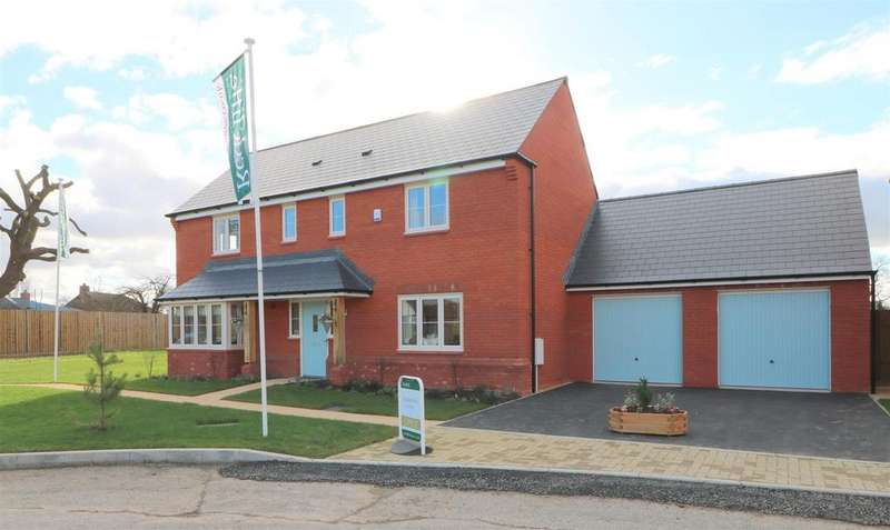 5 Bedrooms Detached House for sale in The Ashbury, Nup End Green, Ashleworth