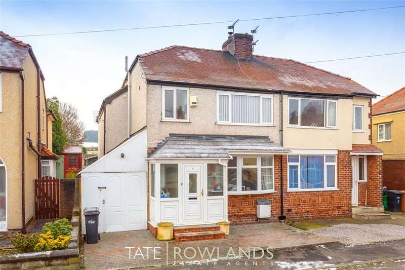 4 Bedrooms Semi Detached House for sale in Oak Grove, Flint, Flintshire, CH6