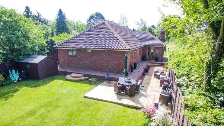 5 Bedrooms Detached Bungalow for sale in The Grove, Marton