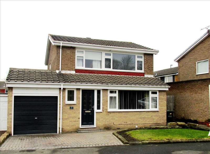 3 Bedrooms Detached House for sale in Gleneagle Close, Newcastle upon Tyne