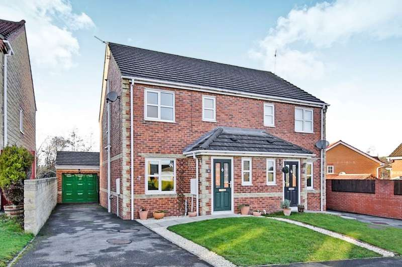 3 Bedrooms Semi Detached House for sale in Oakwell Court, Hamsterley Colliery, Newcastle Upon Tyne, NE17