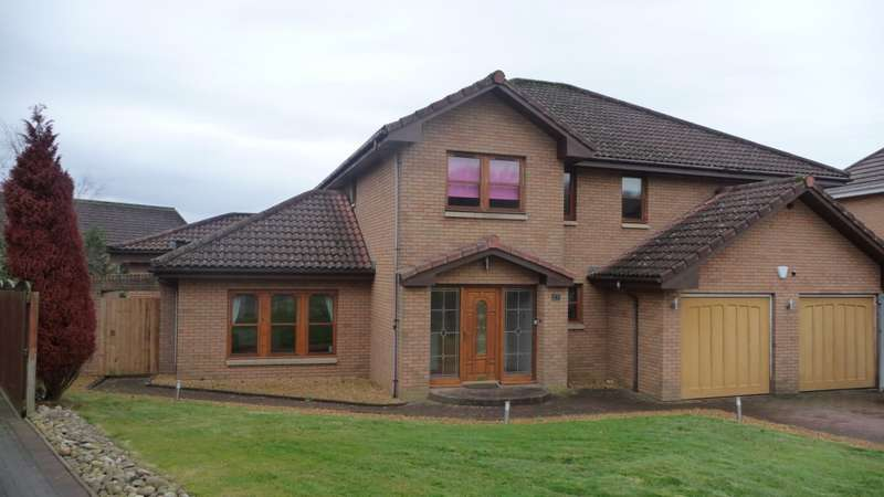 5 Bedrooms Detached House for sale in Braid Avenue, Dalziel Park, Motherwell, ML1