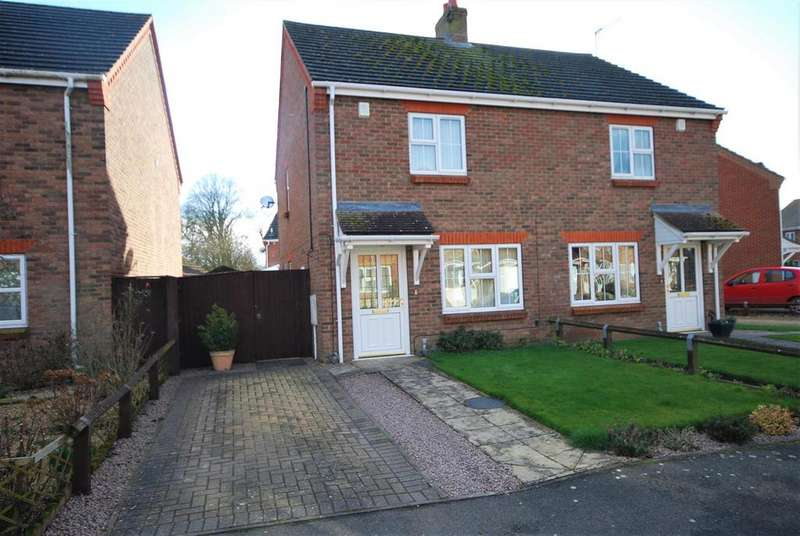 2 Bedrooms Semi Detached House for sale in Strawberry Fields Drive, Holbeach St Marks, Spalding