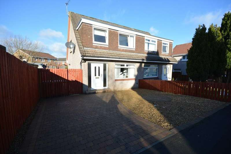 3 Bedrooms Semi Detached House for sale in Colonsay Place, Kilmarnock, KA3