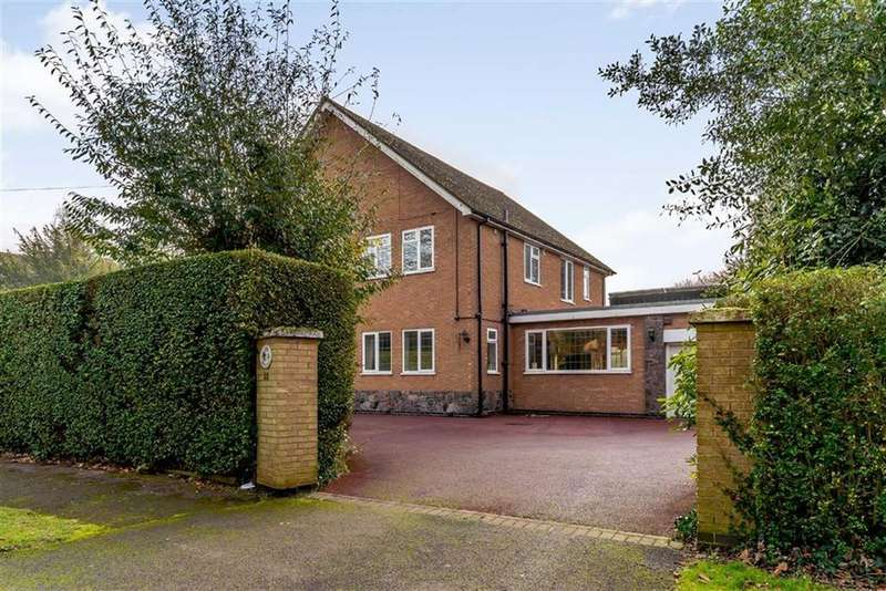4 Bedrooms Detached House for sale in Southmeads Road, Oadby, Leicester, Leicestershire