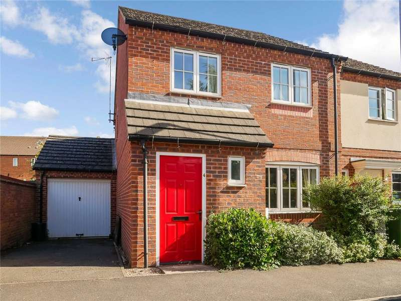 3 Bedrooms Semi Detached House for sale in Moir Close, Sileby, Loughborough, Leicestershire, LE12