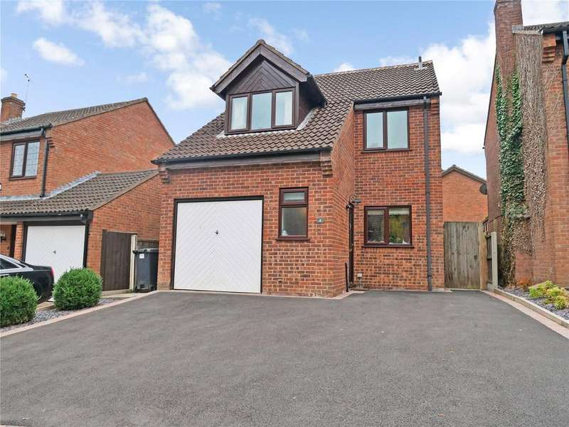 4 Bedrooms Detached House for sale in St. Marys Close, Burton-on-the-Wolds, Loughborough, Leicestershire, LE12