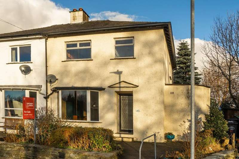 3 Bedrooms Semi Detached House for sale in 45 Oldfield Road, Windermere, Cumbria, LA23 2AZ