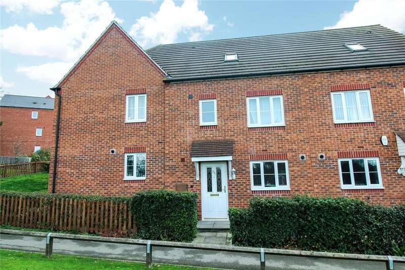 4 Bedrooms Town House for sale in Langford Way, Leicester, LE5