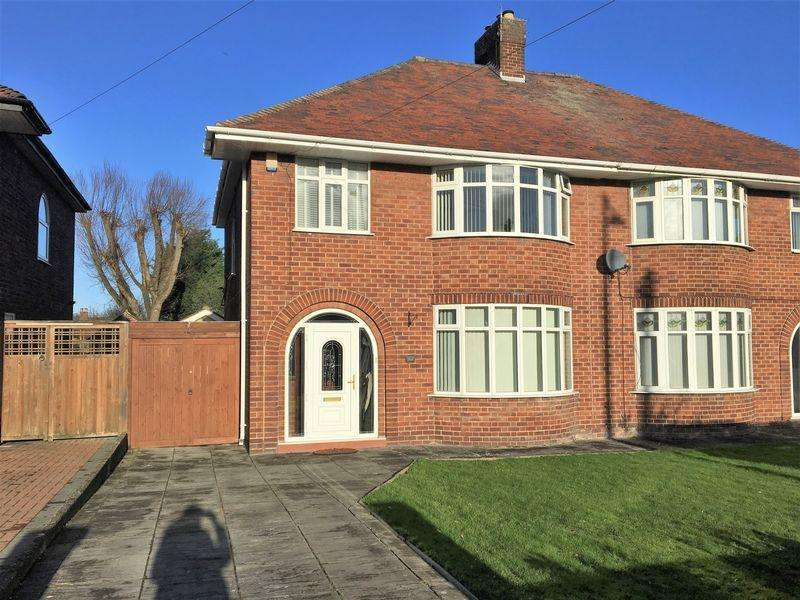3 Bedrooms Semi Detached House For Sale In Hoylake Road Moreton