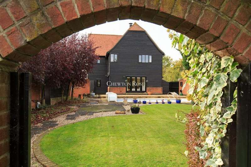 4 Bedrooms Detached House for sale in East Barn, Coppingdown Farm, Castle Hedingham