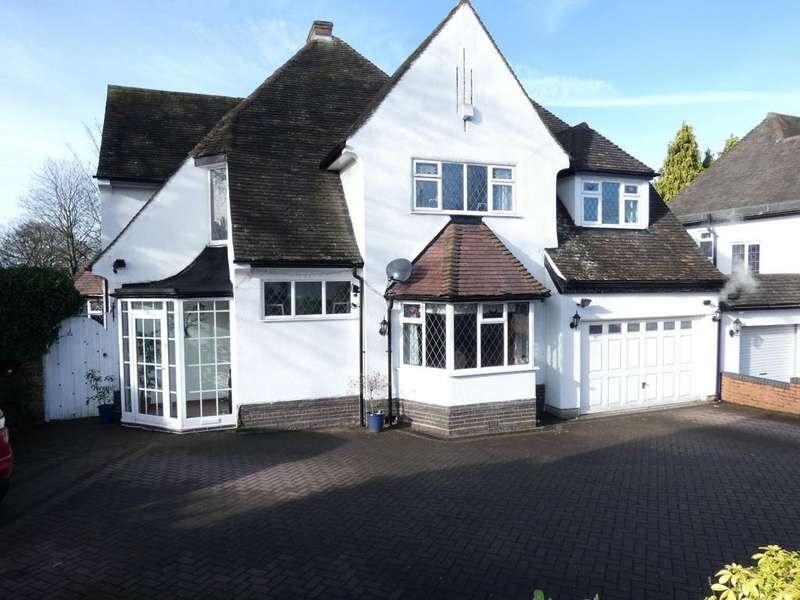 4 Bedrooms Detached House for sale in Goldieslie Road, Sutton Coldfield