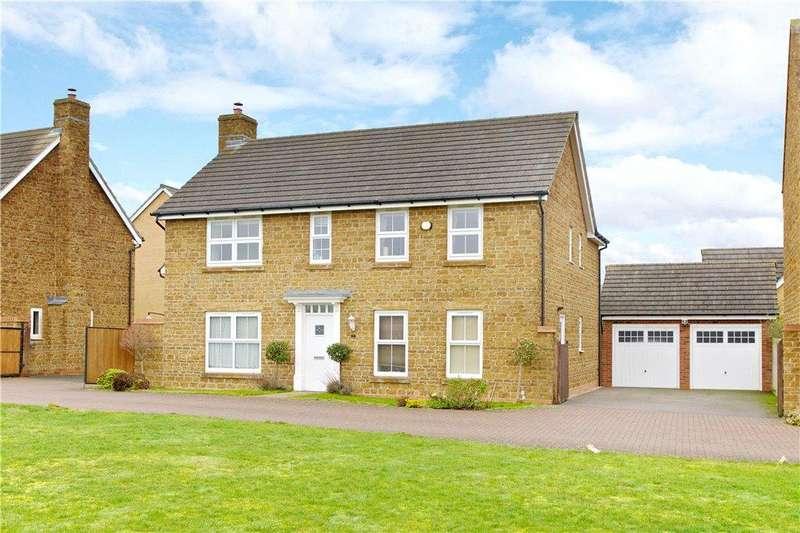 4 Bedrooms Detached House for sale in Gomez Close, Oxley Park, Milton Keynes, Buckinghamshire