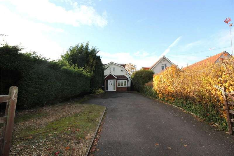 4 Bedrooms Detached House for sale in Colemans Moor Road, Woodley, Reading, Berkshire, RG5