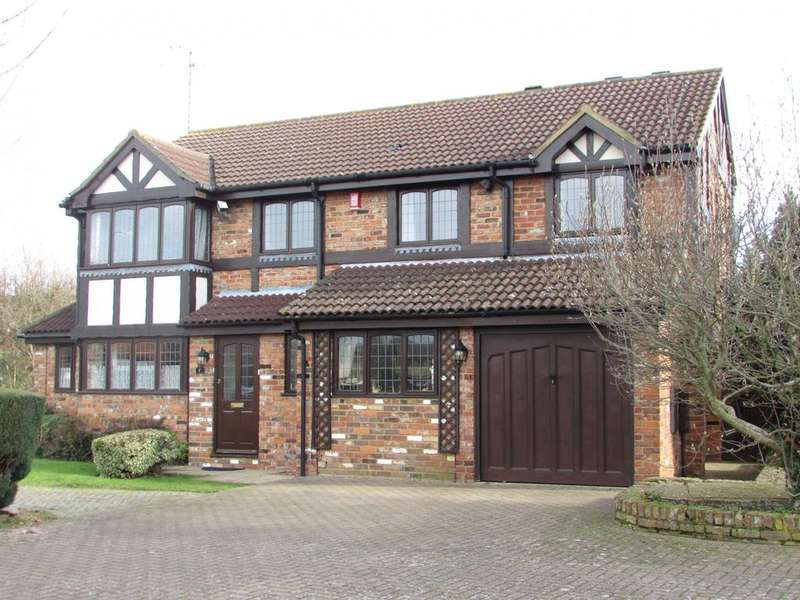 5 Bedrooms Detached House for sale in Woodmere, Luton, Bedfordshire, LU3