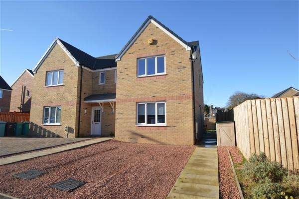 3 Bedrooms Semi Detached House for sale in Monteith Path, Glasgow, G69 9FN