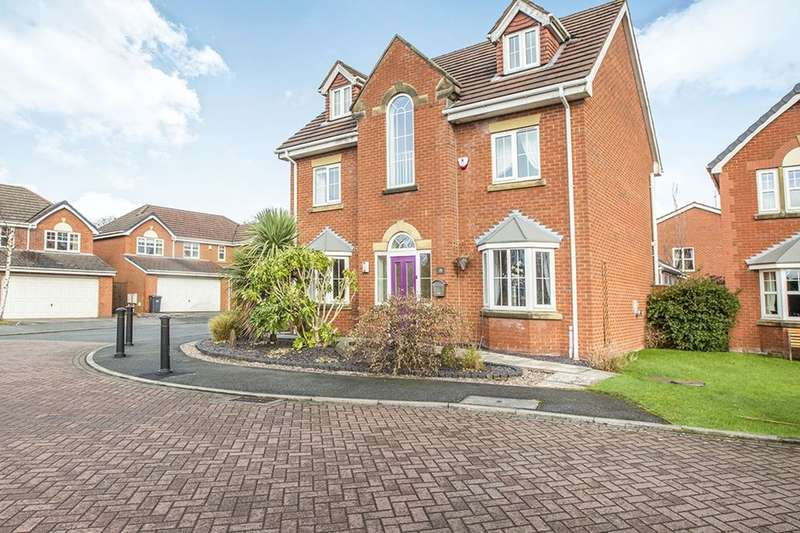5 Bedrooms Detached House for sale in The Heritage, Leyland, PR25