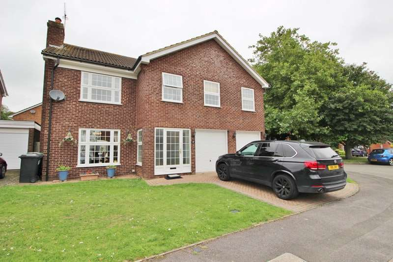 5 Bedrooms Detached House for sale in Southfield Way, St. Albans, Hertfordshire, AL4