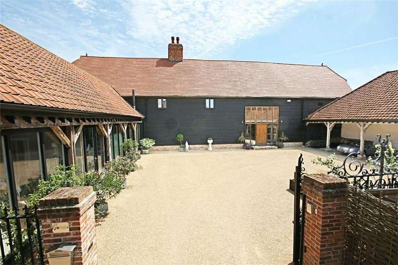 5 Bedrooms Barn Conversion Character Property for sale in Two Hoots Barn, Little Laver, Ongar, Essex