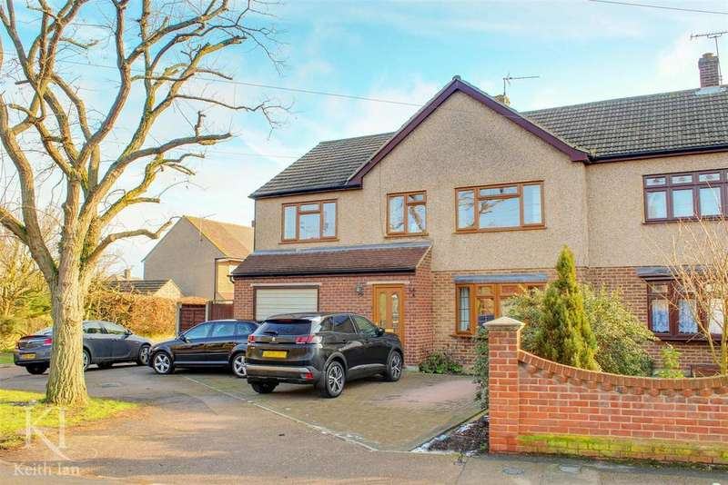 4 Bedrooms Semi Detached House for sale in Cozens Road, Ware - Huge Family Kitchen!