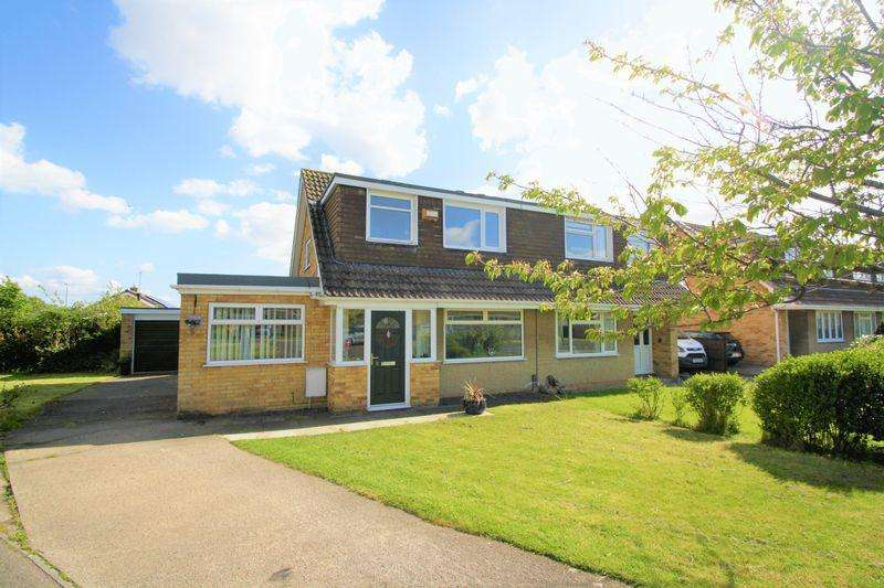 3 Bedrooms Semi Detached House for sale in Chatsworth Court, Whitehouse Farm, Stockton, TS19 0QR