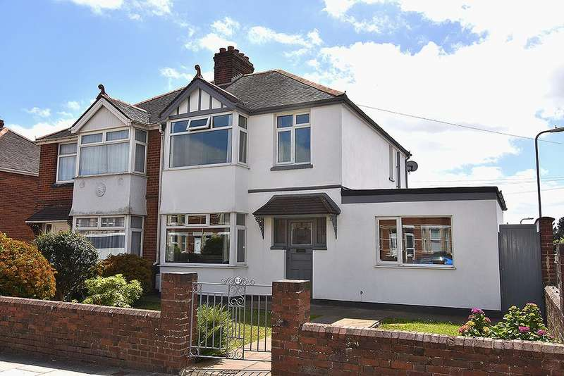 4 Bedrooms Semi Detached House for sale in Pinhoe Road, Exeter
