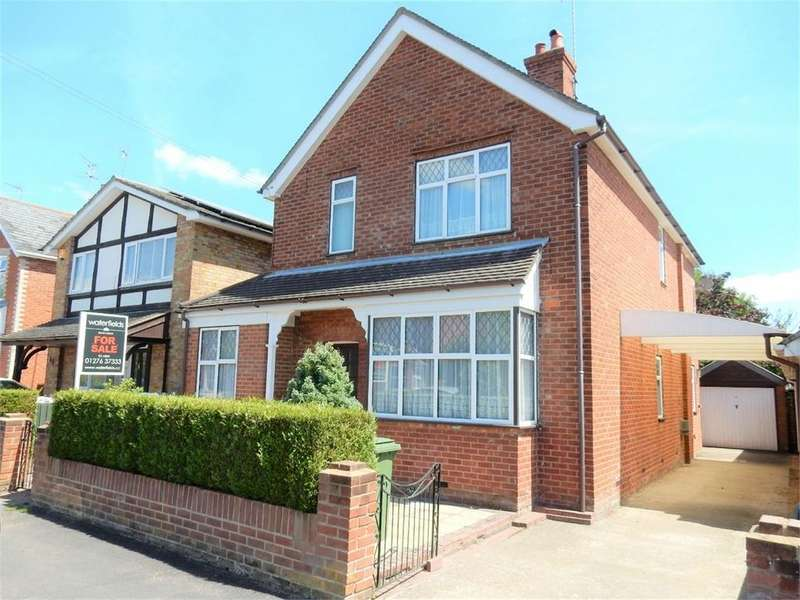 4 Bedrooms Detached House for sale in Florence Road, College Town, SANDHURST, Berkshire
