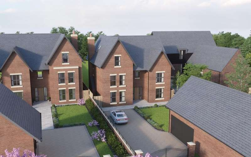 6 Bedrooms Detached House for sale in Plot 5 Cotebrook, Oughtrington Lane, Lymm