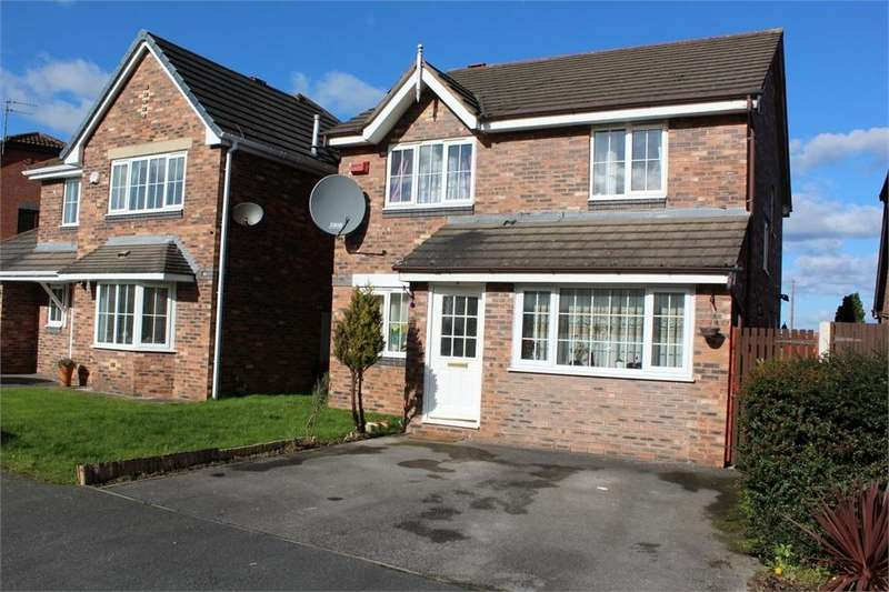 4 Bedrooms Detached House for sale in Hever Drive, Halewood Village, LIVERPOOL, Merseyside