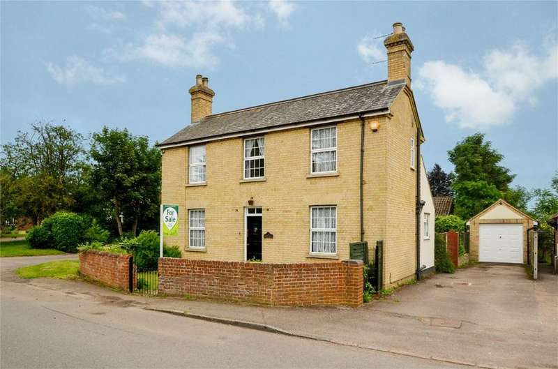 3 Bedrooms Detached House for sale in Greenway, CAMPTON, Bedfordshire