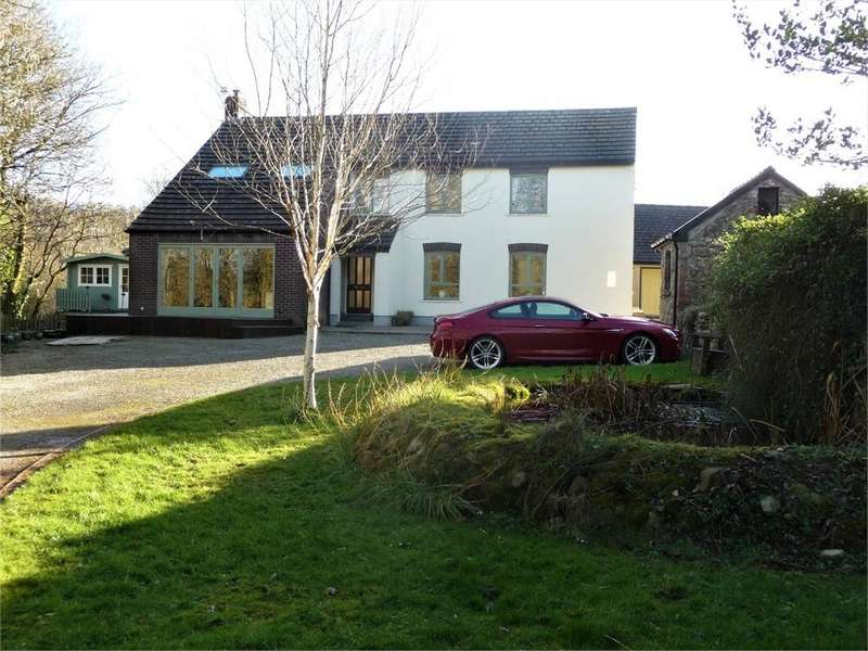 5 Bedrooms Detached House for sale in Ford House and Ford Cottage, Wolfscastle, Haverfordwest, Pembrokeshire