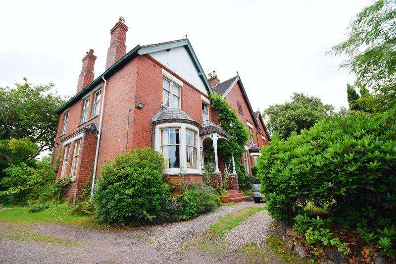 4 Bedrooms Semi Detached House for sale in Queens Road, Penkhull, Stoke on Trent