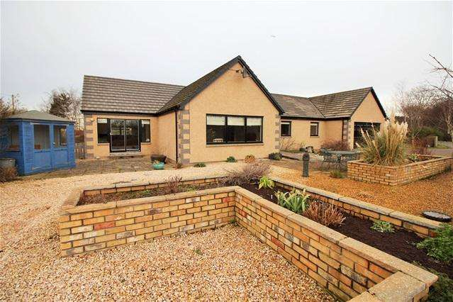 4 Bedrooms Detached Bungalow for sale in Broom of Moy, Forres
