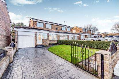 3 Bedrooms Semi Detached House for sale in Grizedale, Washington, Tyne and Wear, NE37