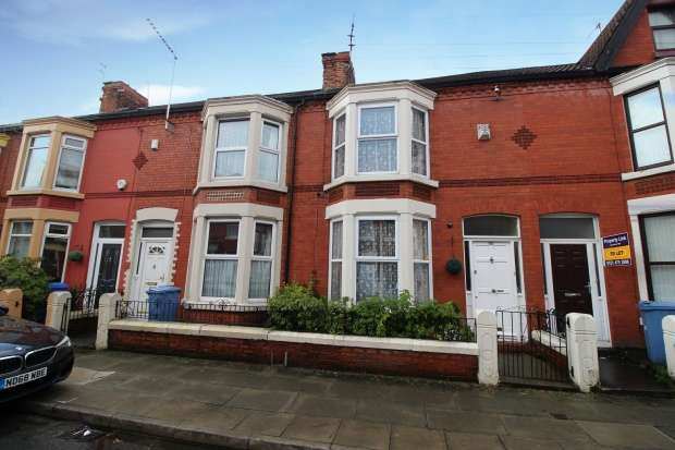 3 Bedrooms Terraced House for sale in Ramilies Road, Liverpool, Merseyside, L18 1EF