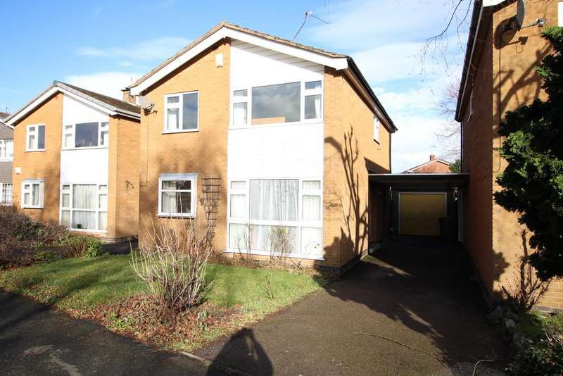 4 Bedrooms Detached House for sale in Berkeley Road, Loughborough